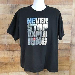 The North Face T-Shirt Mens Size XXL Black TX12